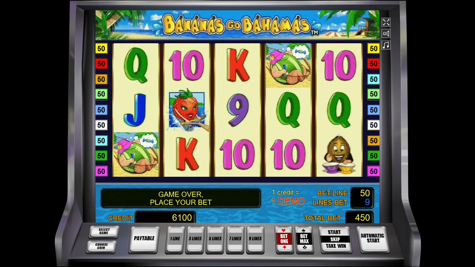 Slot Bananas Go Bahamas