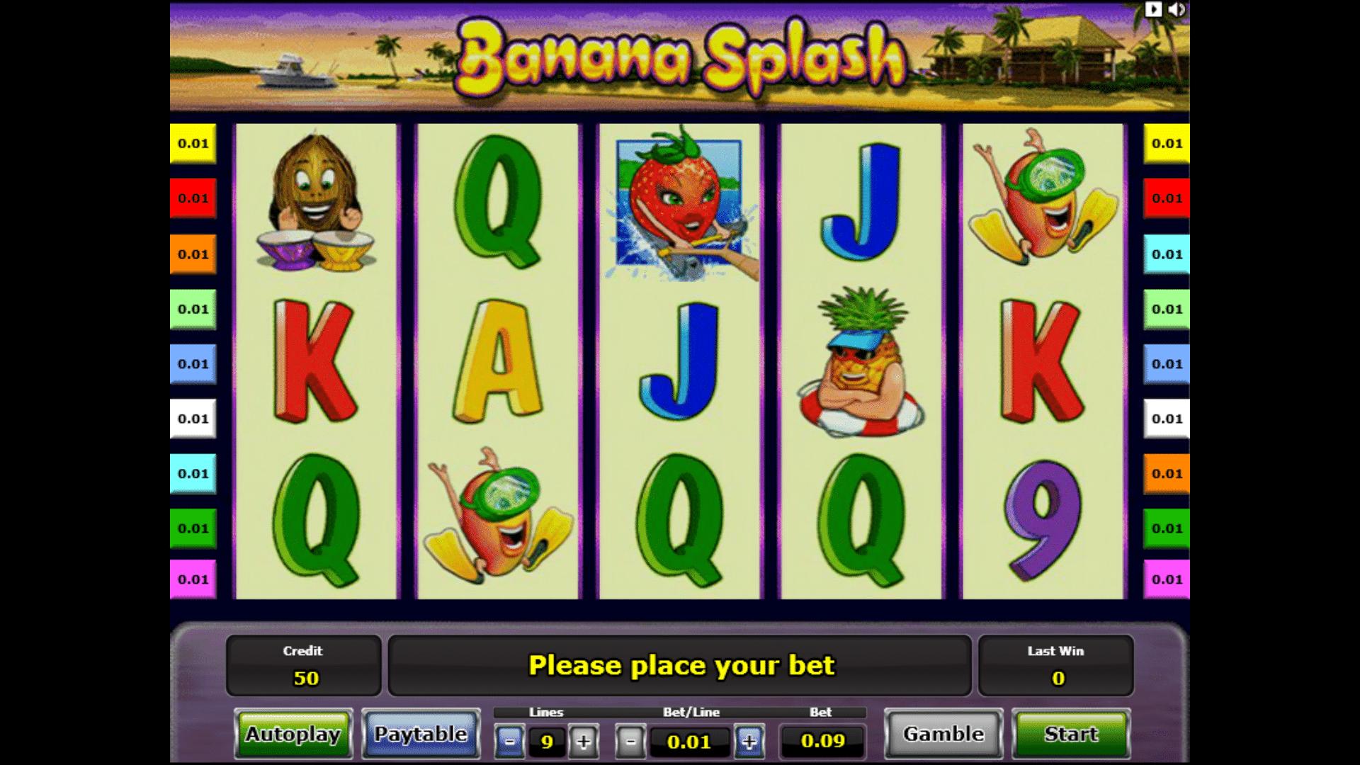Slot Banana Splash