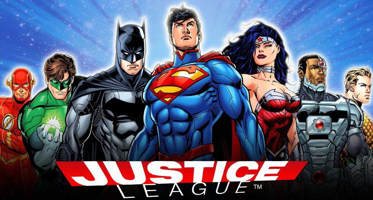 Slot gratis Justice League Comic