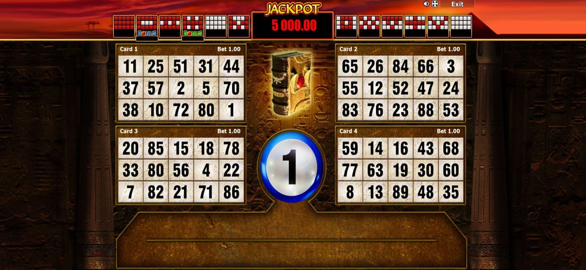 Slot Book Of Ra Bingo