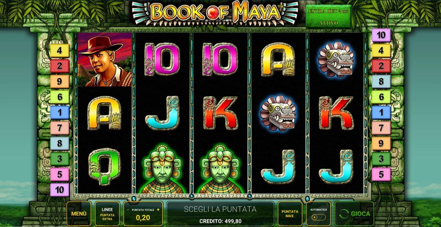 Slot Book Of Maya