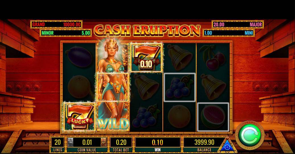Slot Cash Eruption