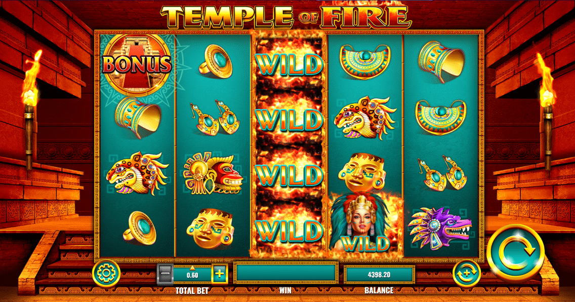 Slot Temple of Fire
