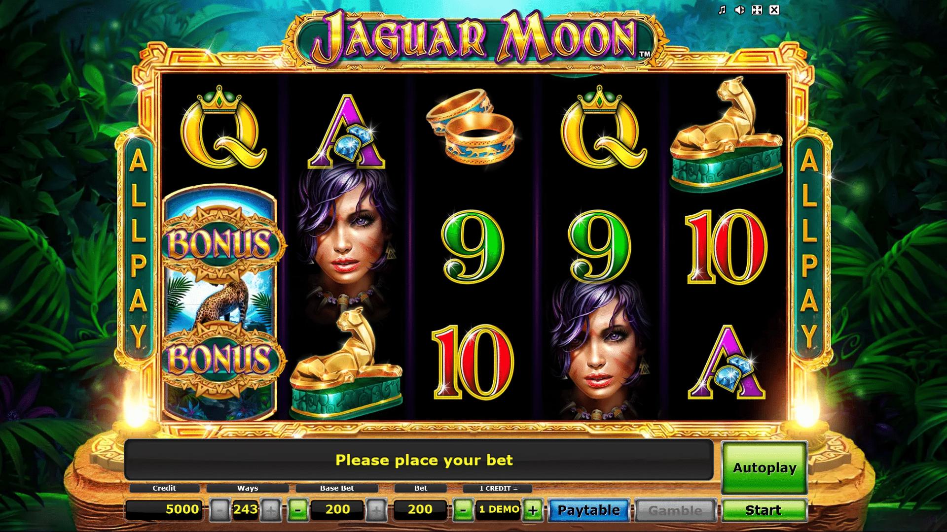 Slot Jaguar Moon