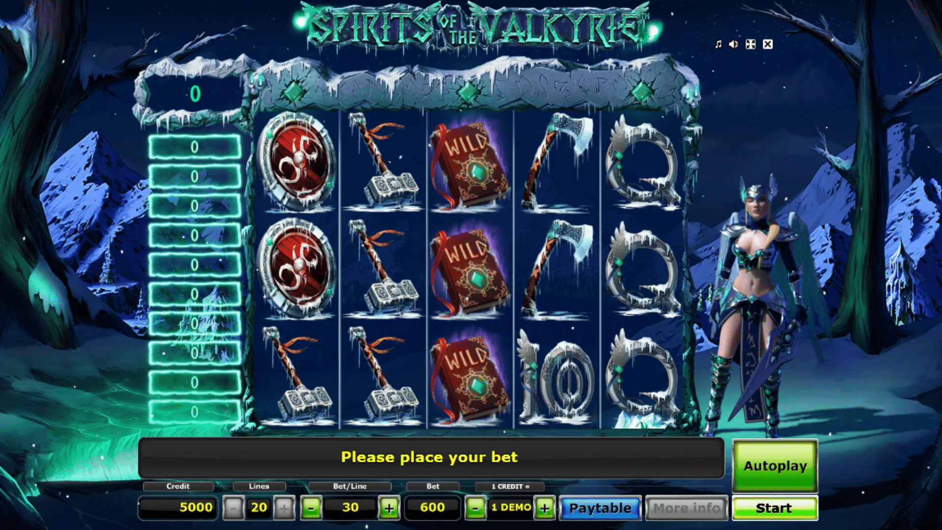 Slot Spirits of the Valkyrie