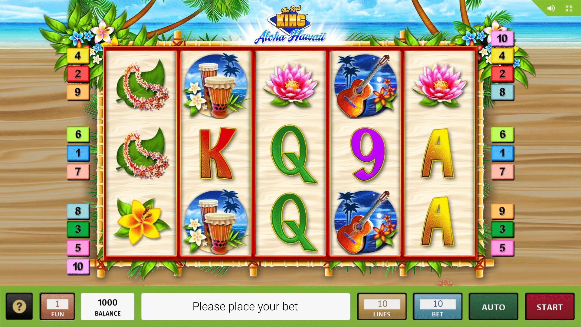 Slot The Real King Aloha Hawaii