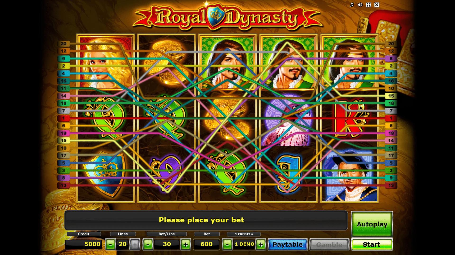 Slot Royal Dynasty