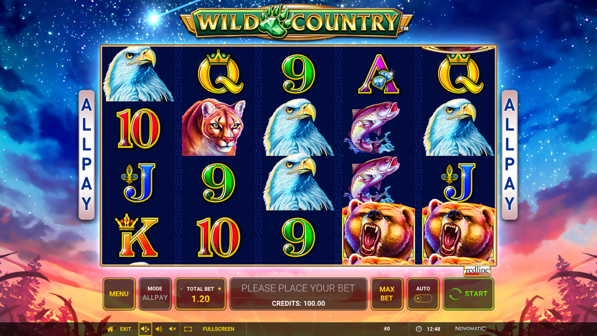 Slot Wild Country