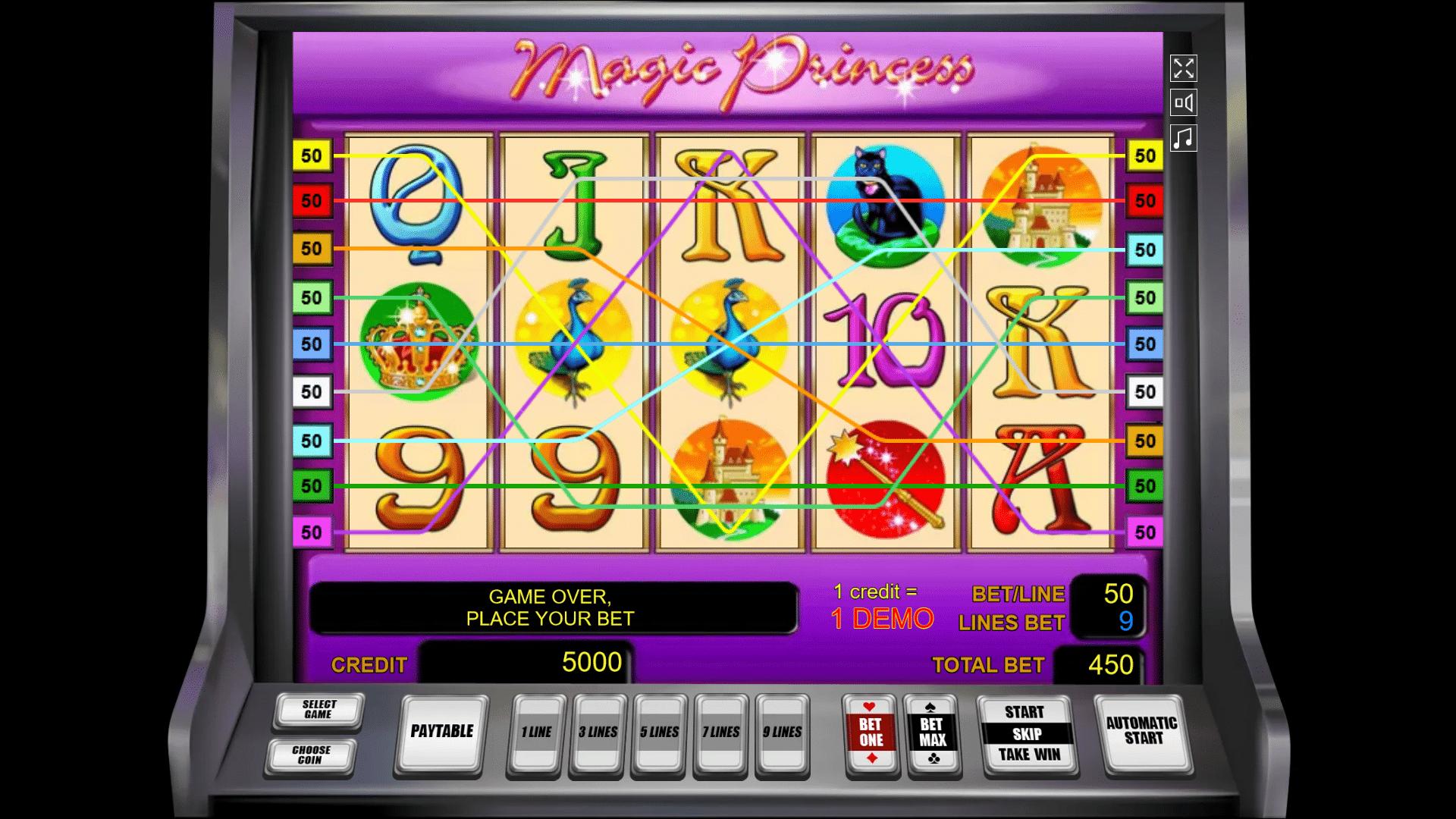 Slot Magic Princess