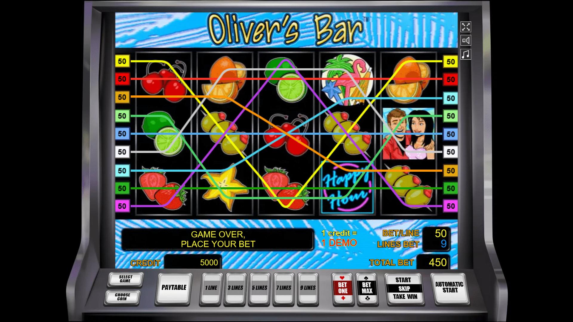 Slot Oliver's Bar