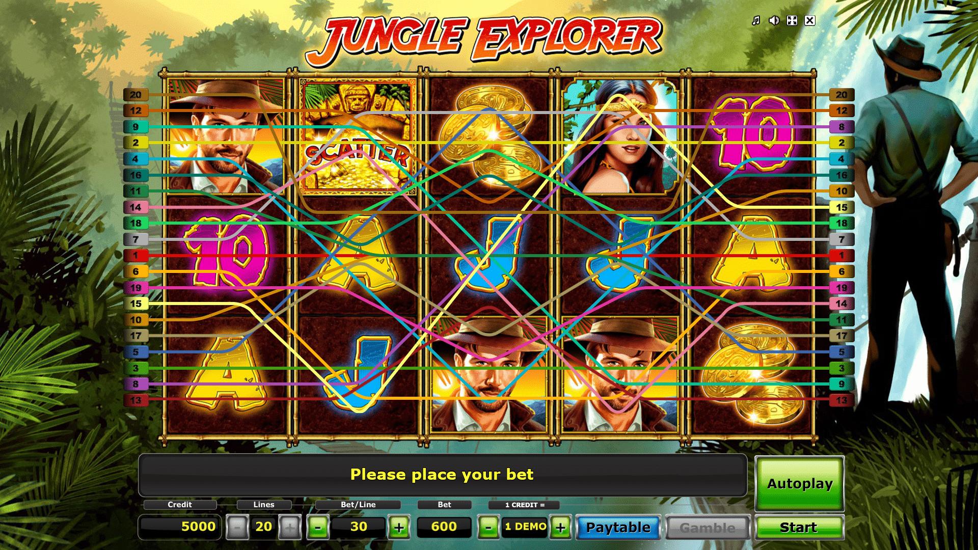 Slot Jungle Explorer
