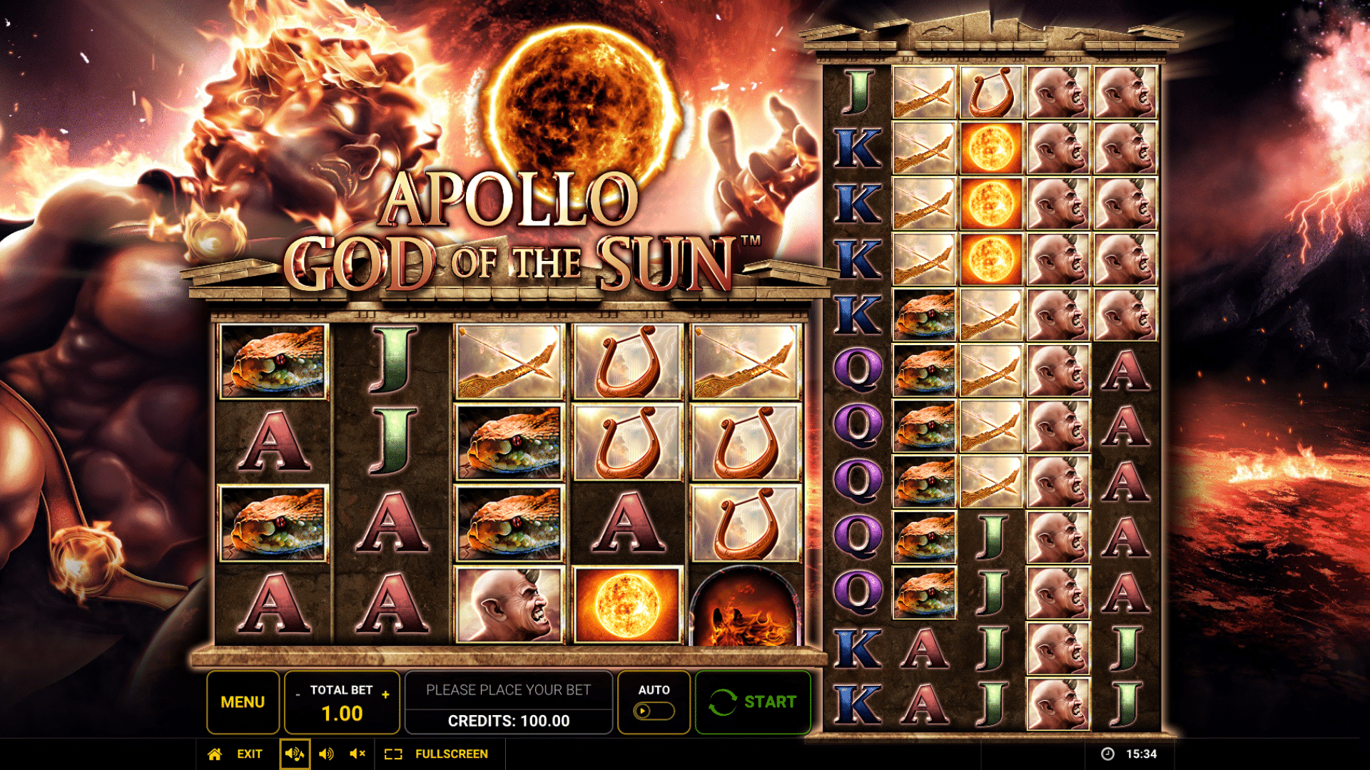 Slot Apollo God of The Sun