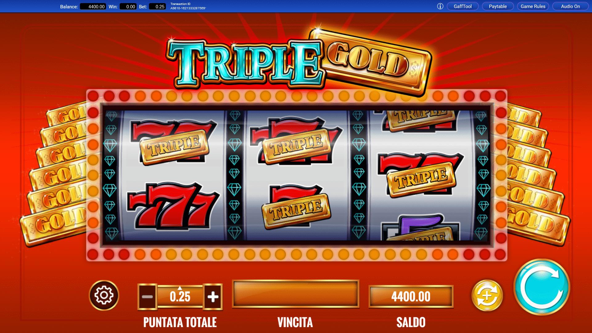 Slot Triple Gold