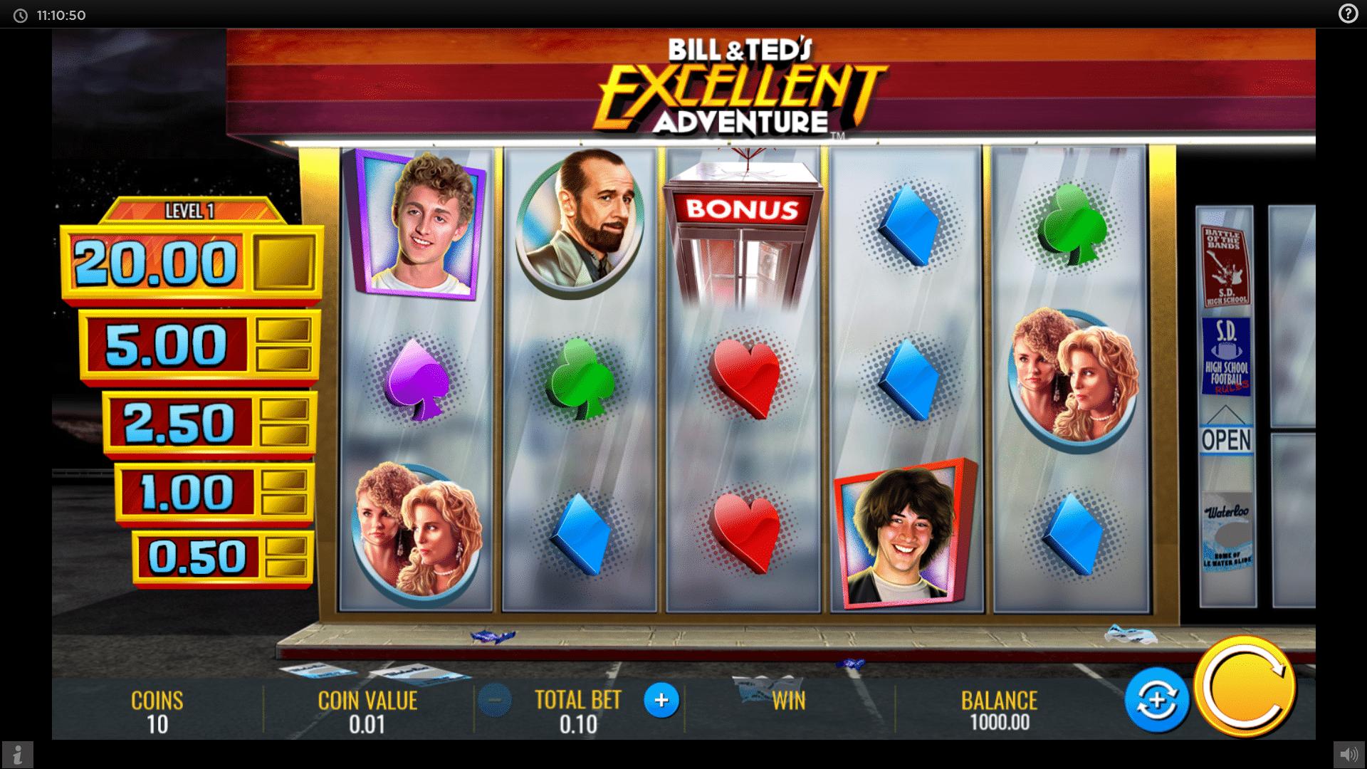 Slot Bill & Teds Excellent Adventure