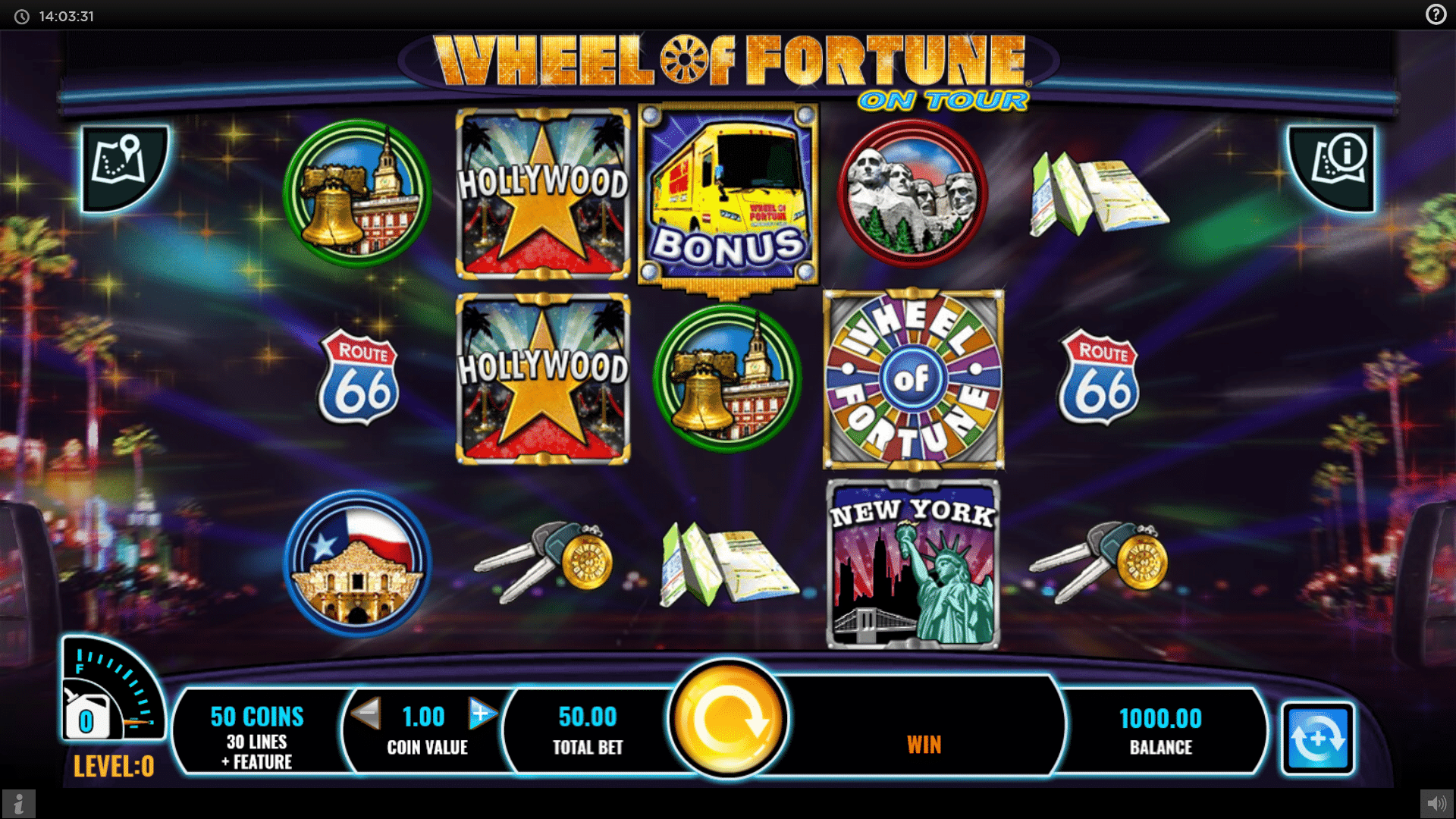 Slot Wheel of Fortune On Tour