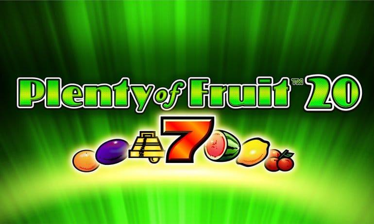 Slot gratis Plenty of Fruit 20