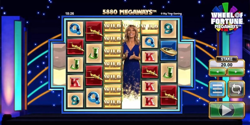 Slot Wheel of Fortune Megaways