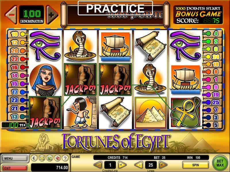 Slot Fortunes of Egypt