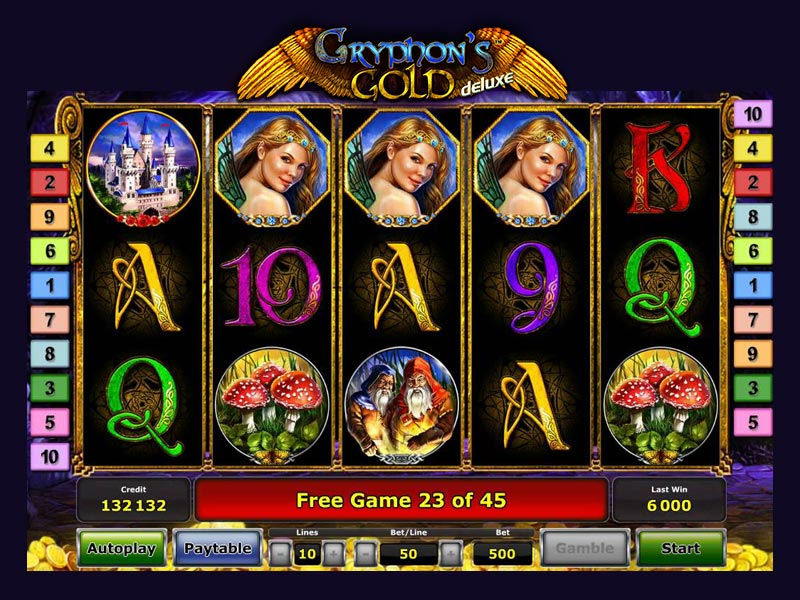 Slot Gryphon's Gold Deluxe