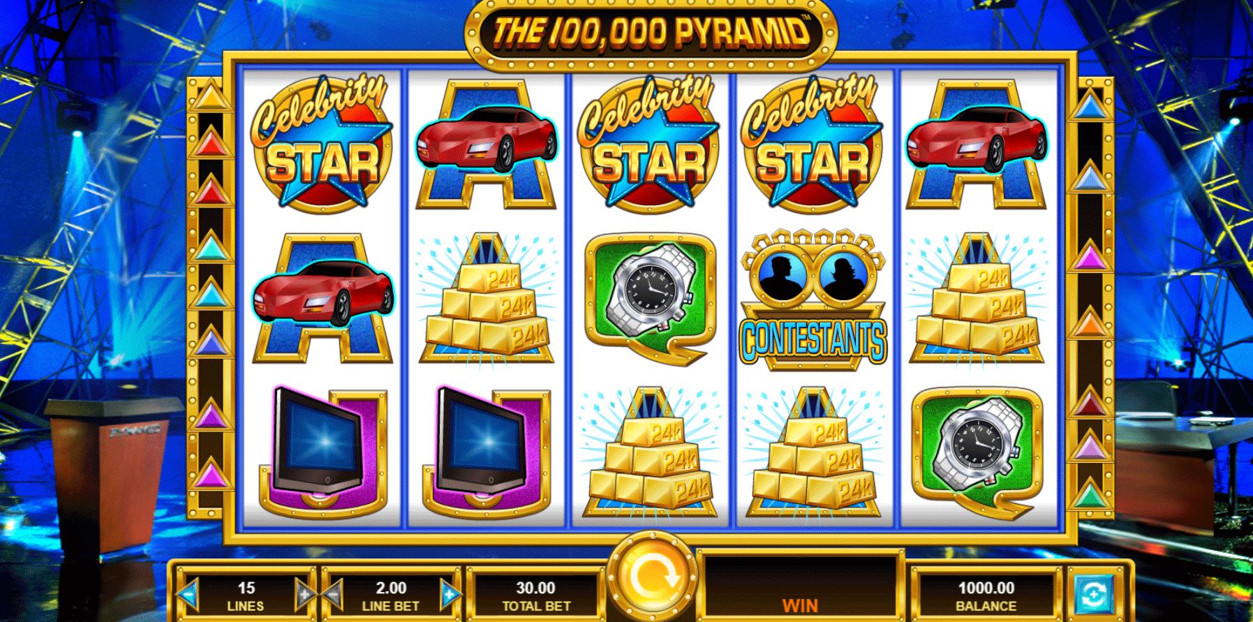 Slot The 100,000 Pyramid