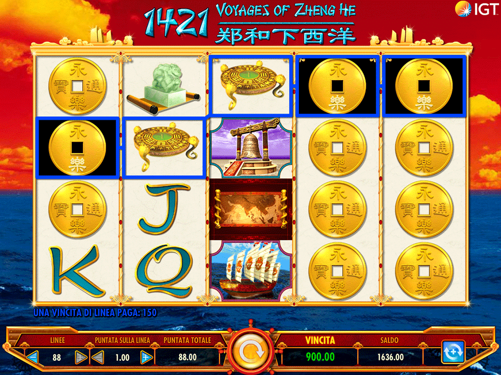 Slot 1421 Voyages of Zheng He