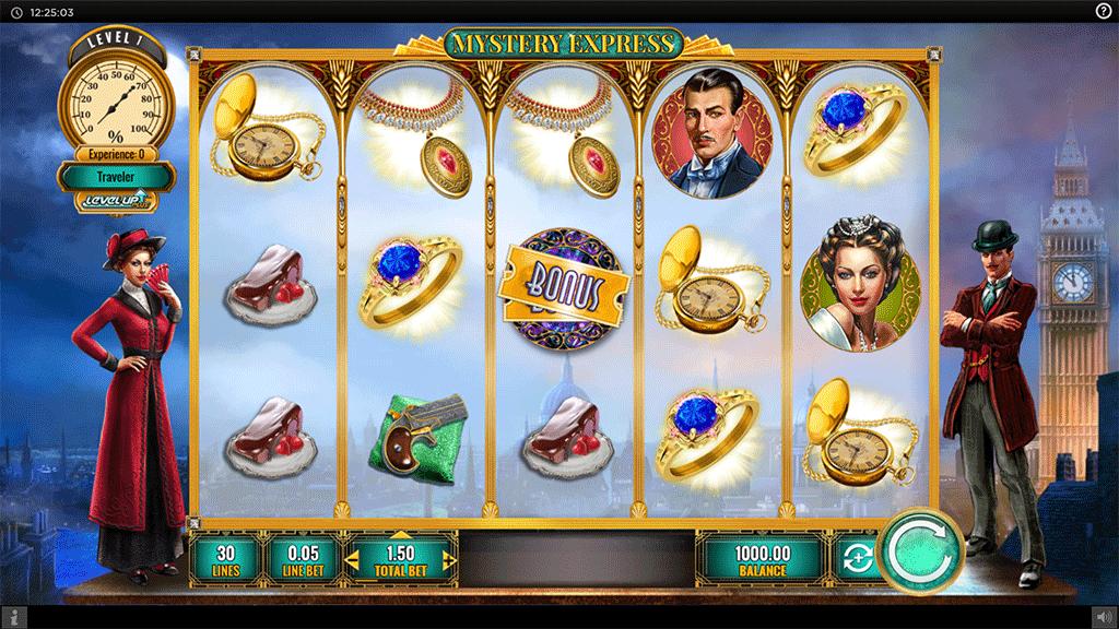 Slot Mystery Express