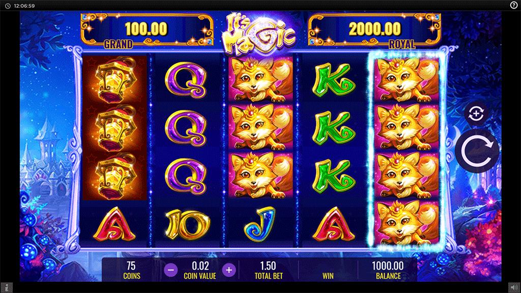 Slot It's Magic