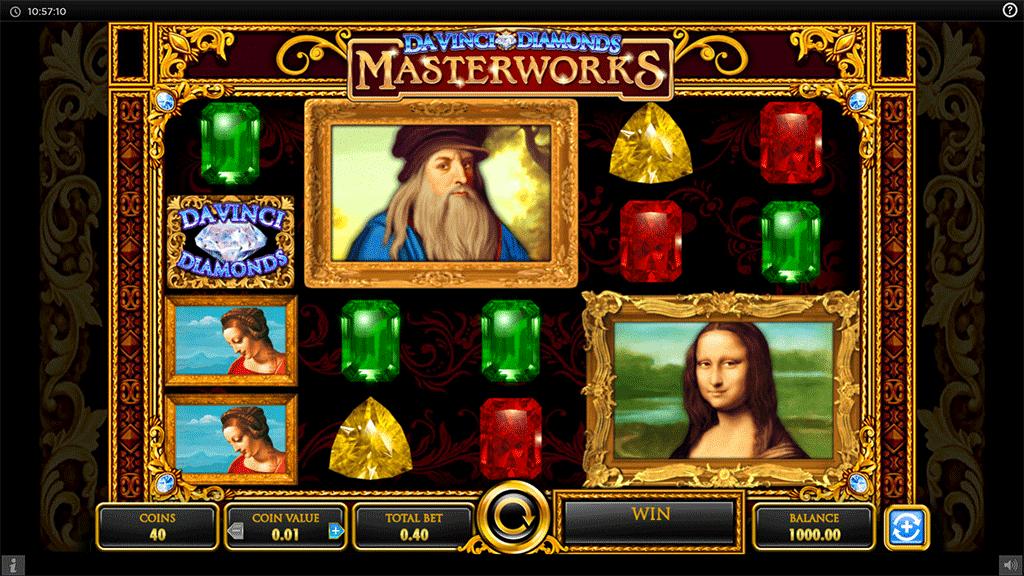 Slot Da Vinci Diamonds Masterworks