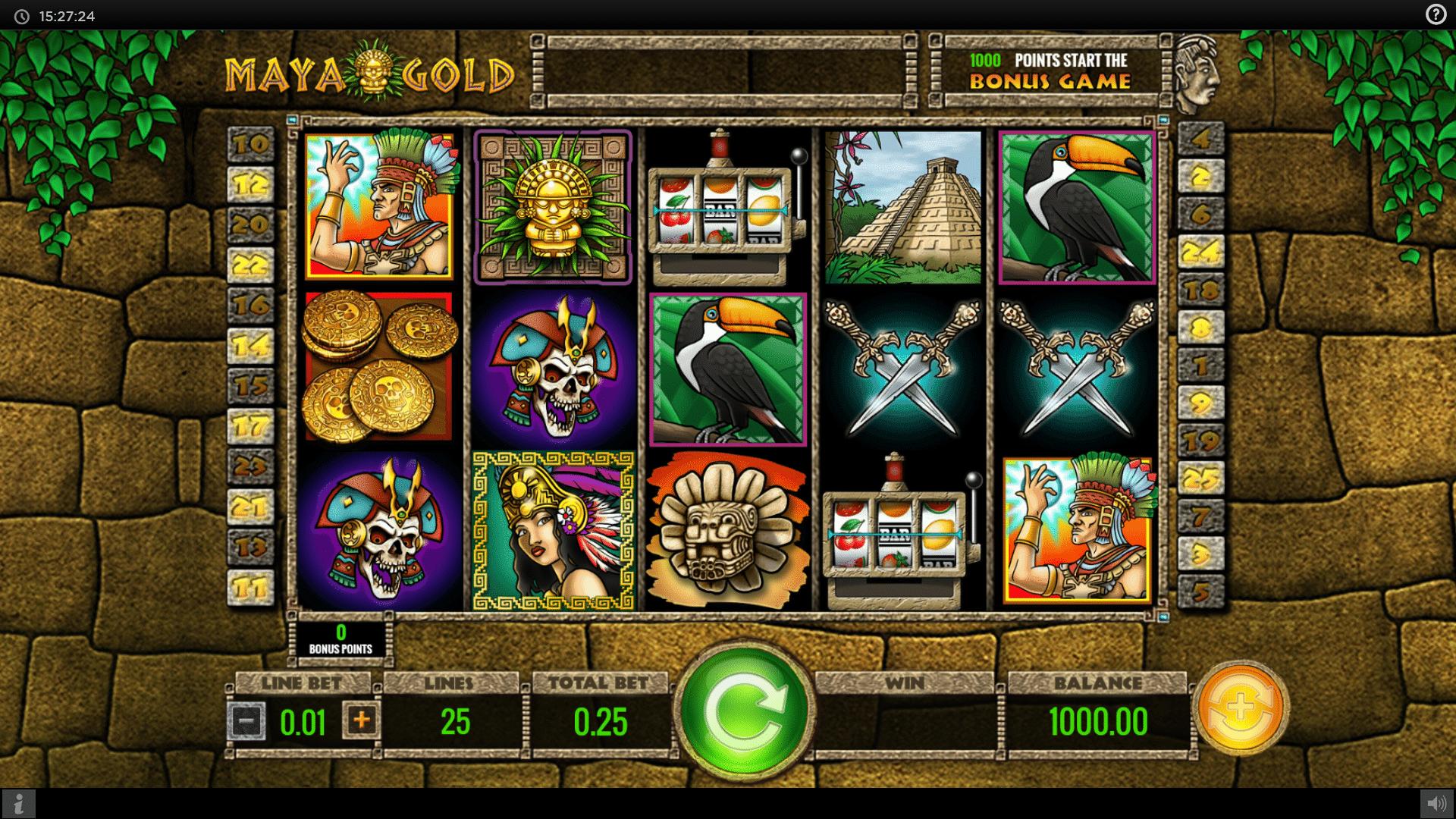 Slot Maya Gold