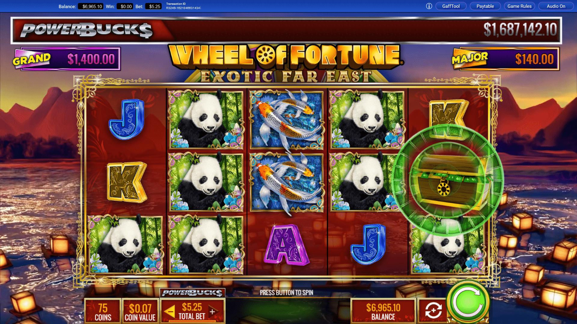 Slot Wheel of Fortune Exotic Far East