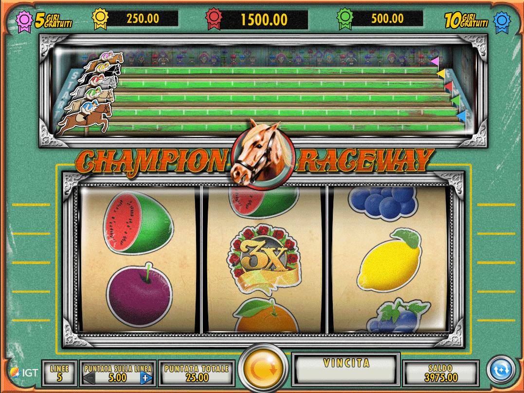 Slot Champion Raceway