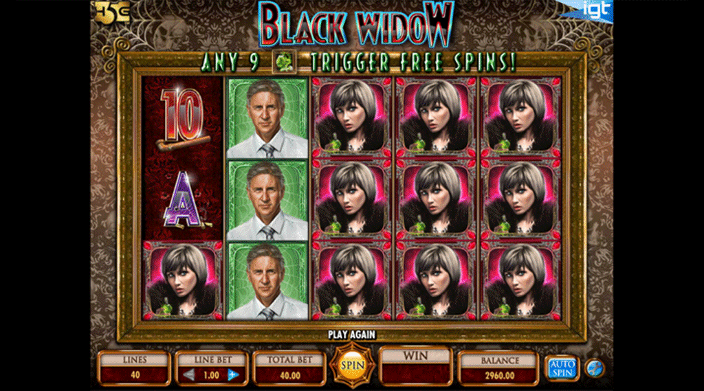 Slot Black Widow
