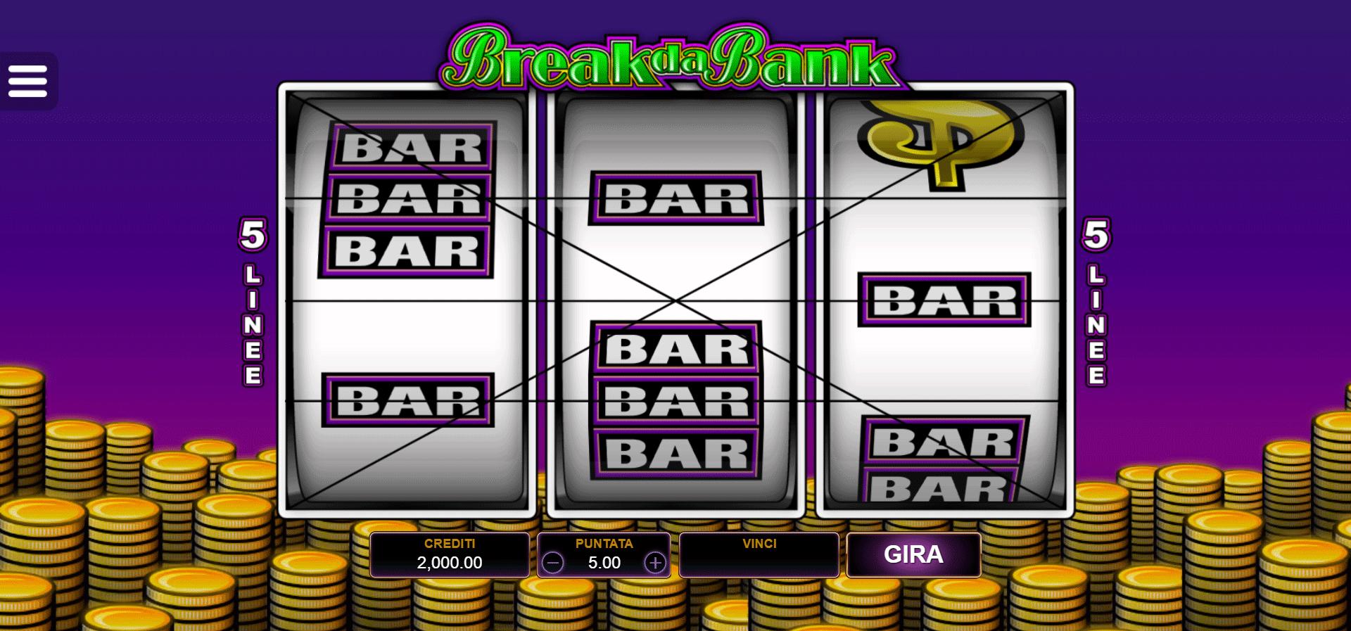 Slot Break da Bank