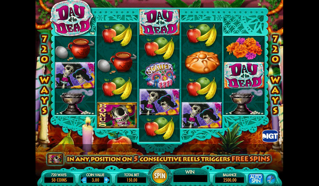 Slot Day of the Dead