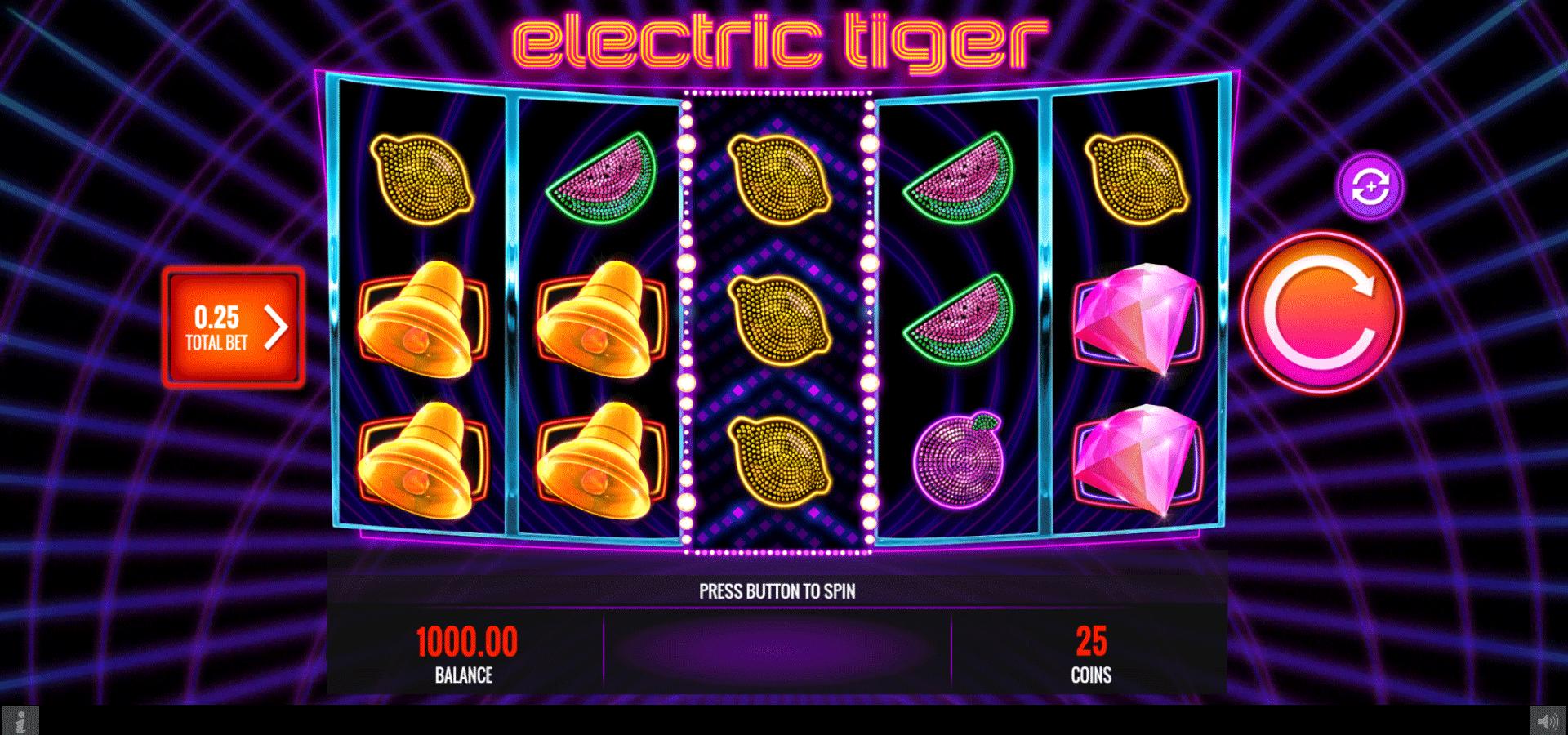 Slot Electric Tiger