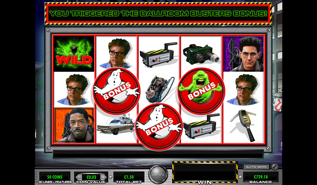 Slot Ghostbusters