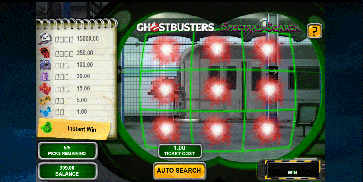 Slot Ghostbusters Spectral Search