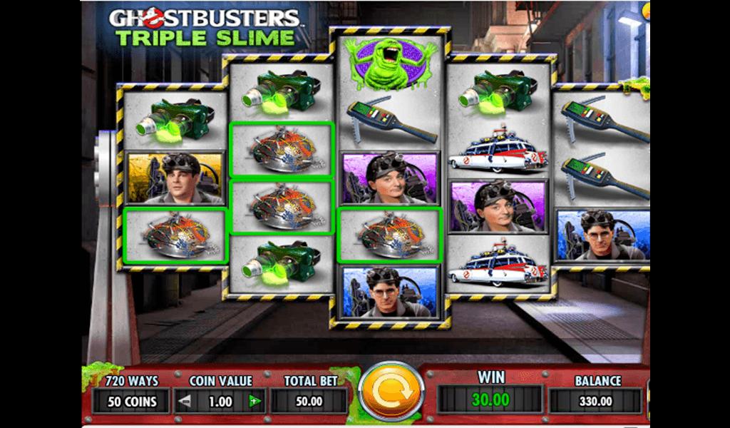 Slot Ghostbusters Triple Slime