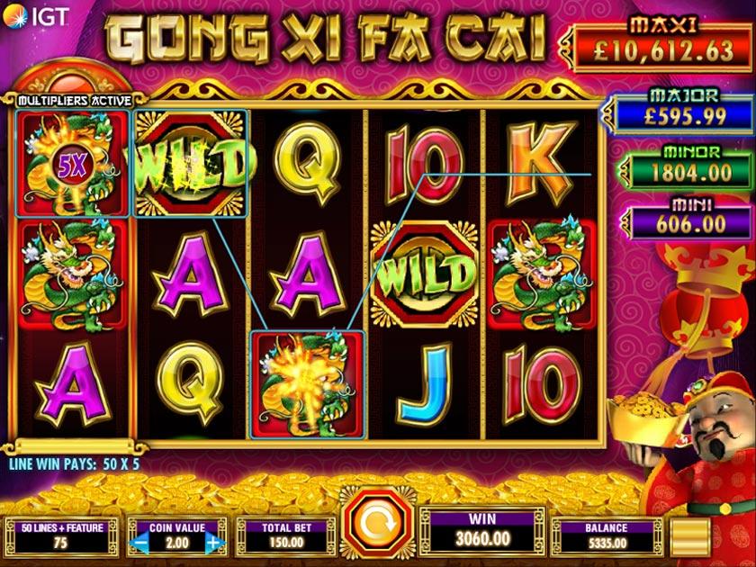 Simbolo Wild Slot gratis Gong Xi Fa Cai