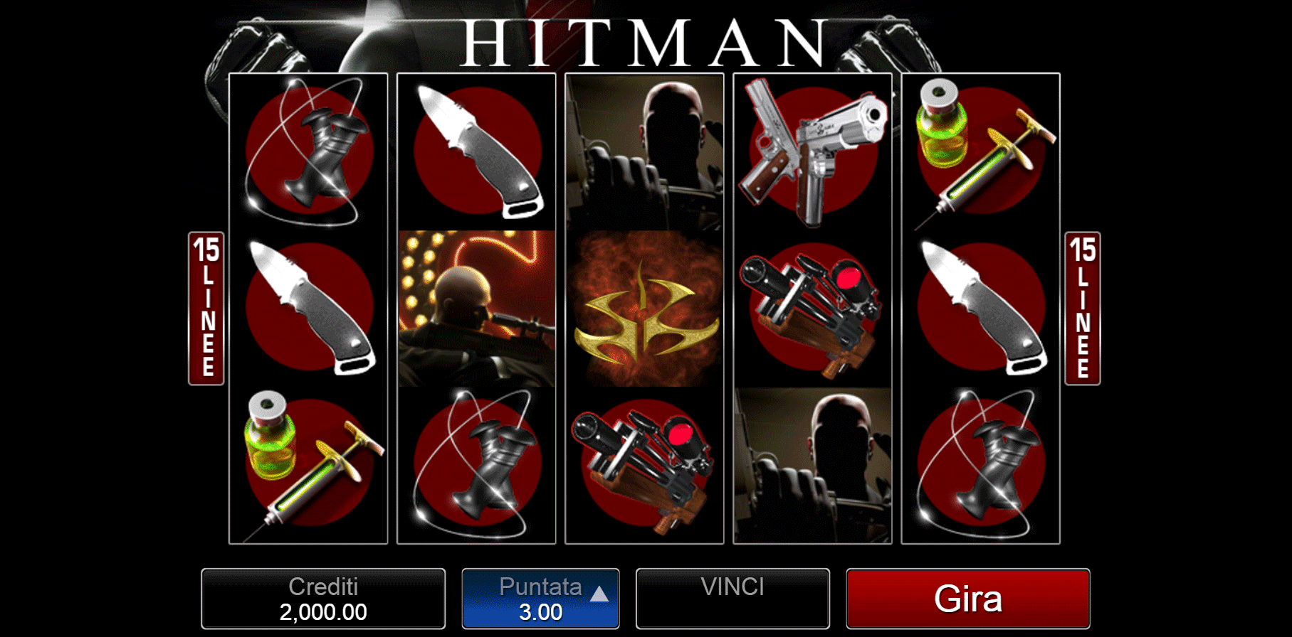 Slot Hitman