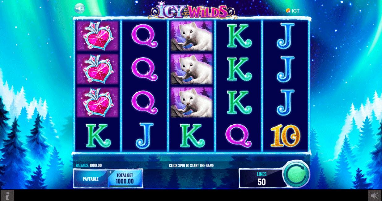 Slot Icy Wilds
