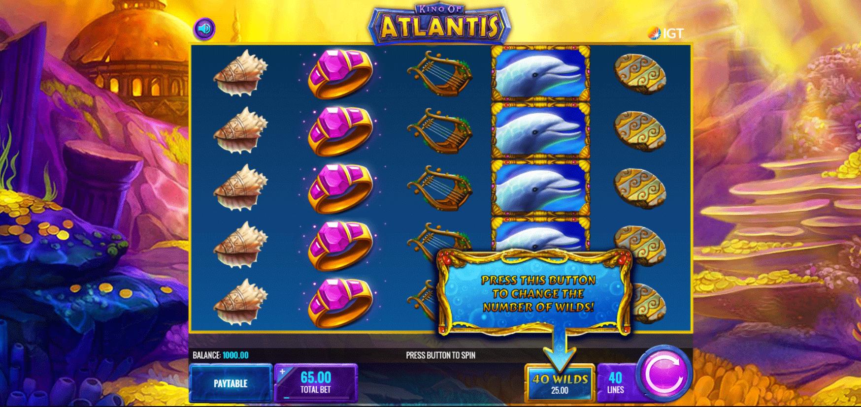 Slot King of Atlantis