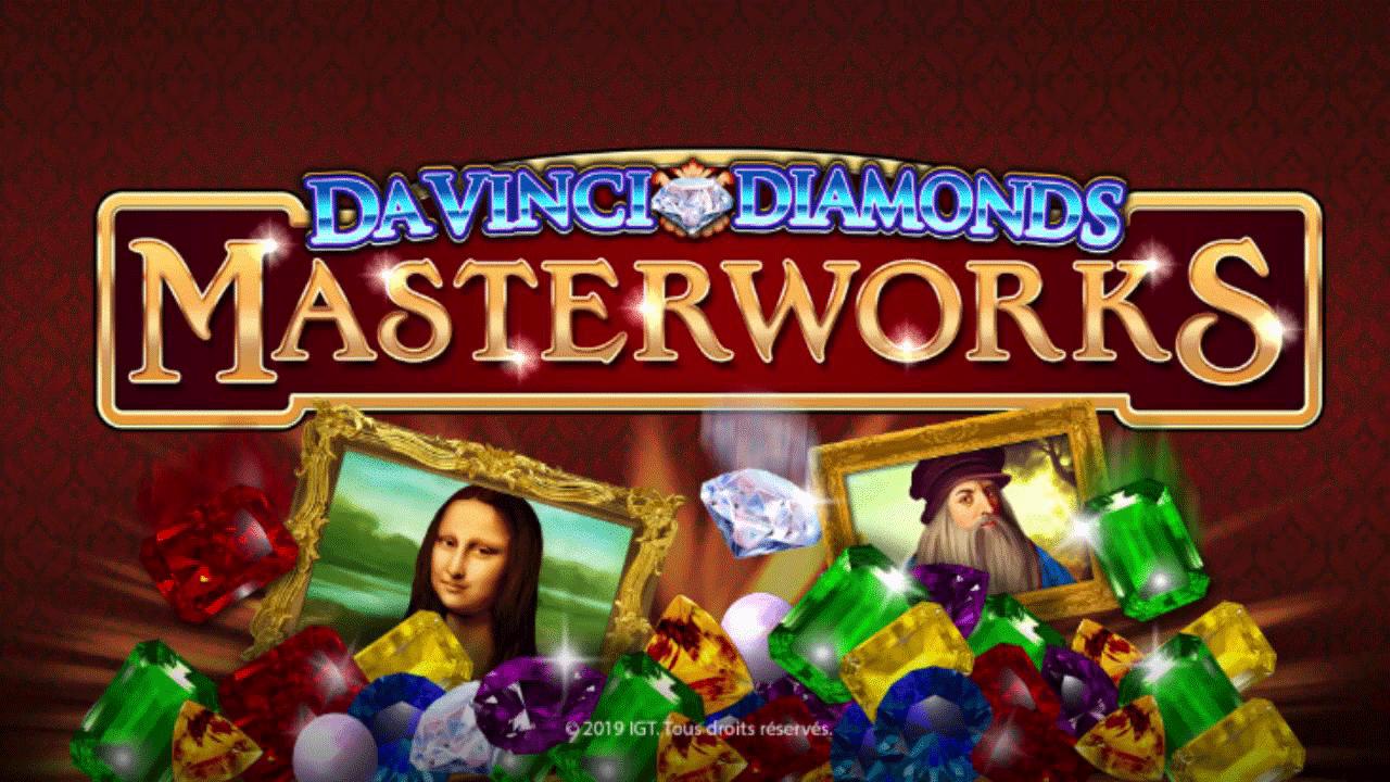 Slot gratis Da Vinci Diamonds Masterworks