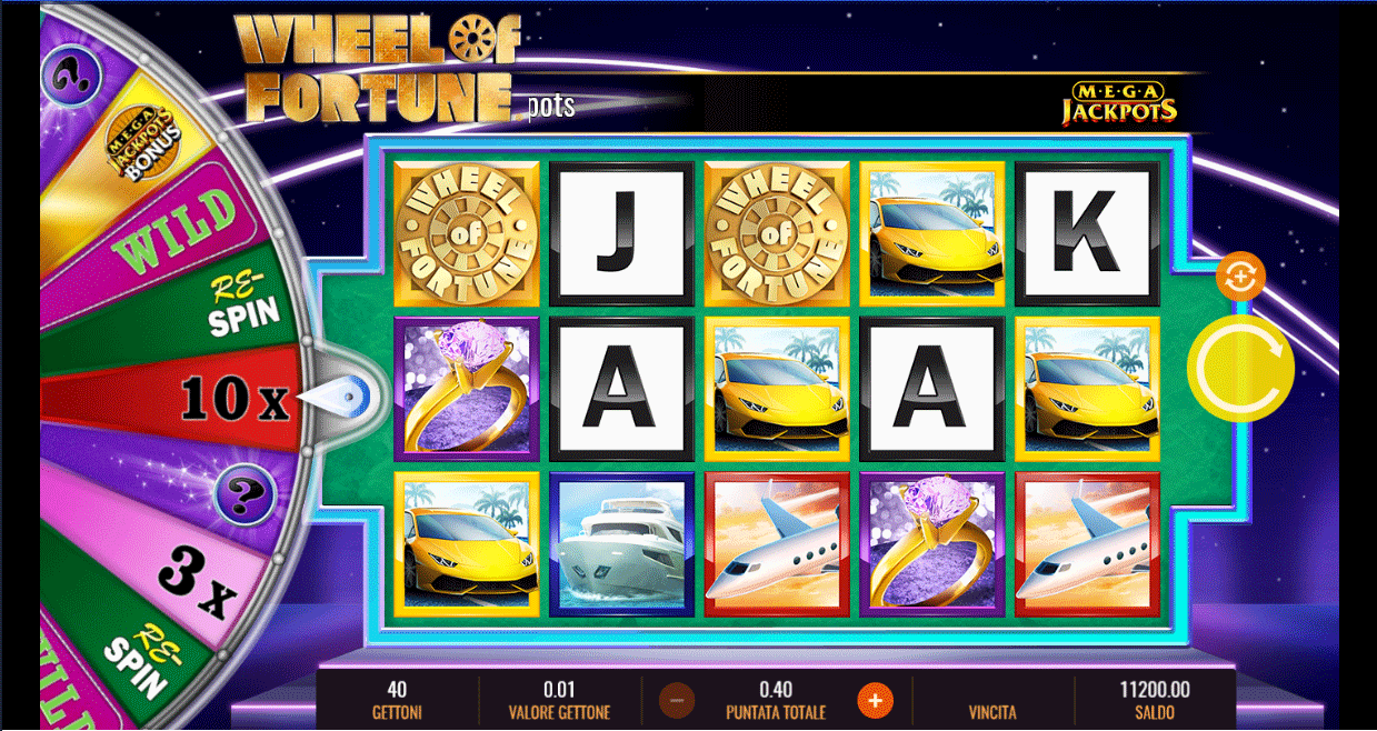 Slot MegaJackpots Wheel of Fortune On Air
