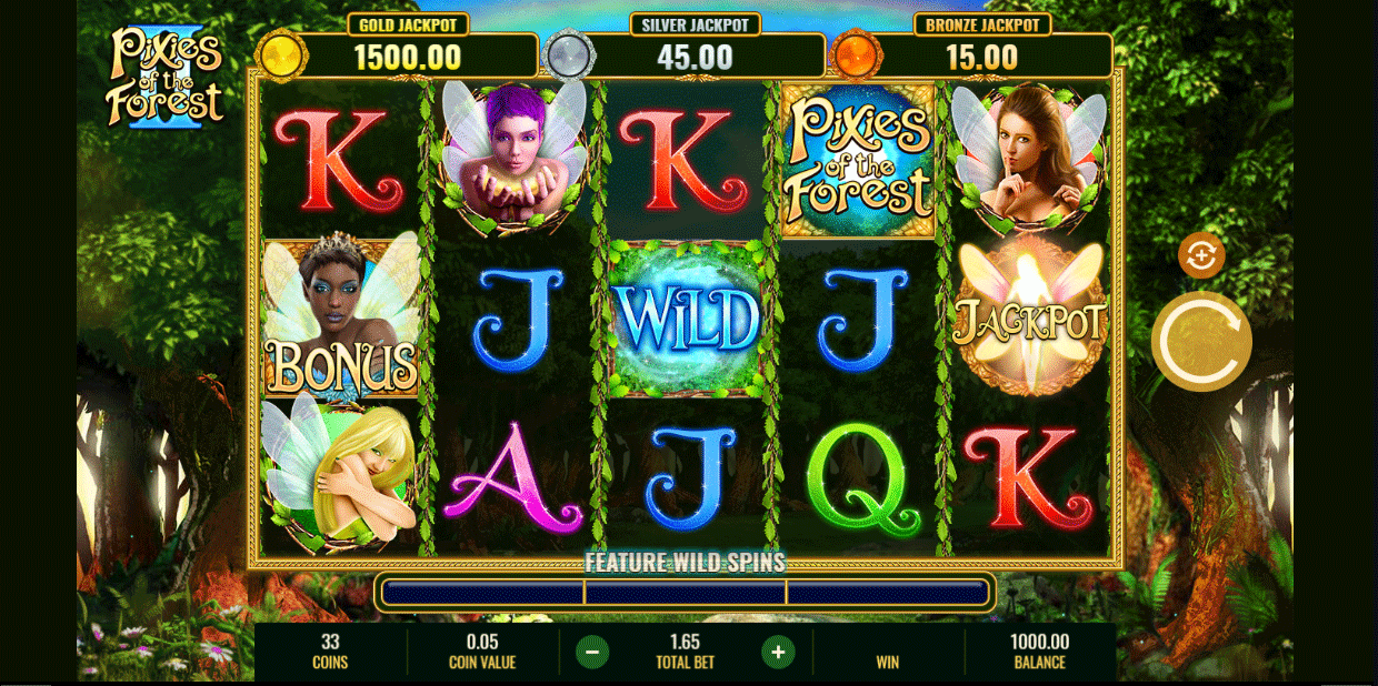 Slot Pixies of the Forest II
