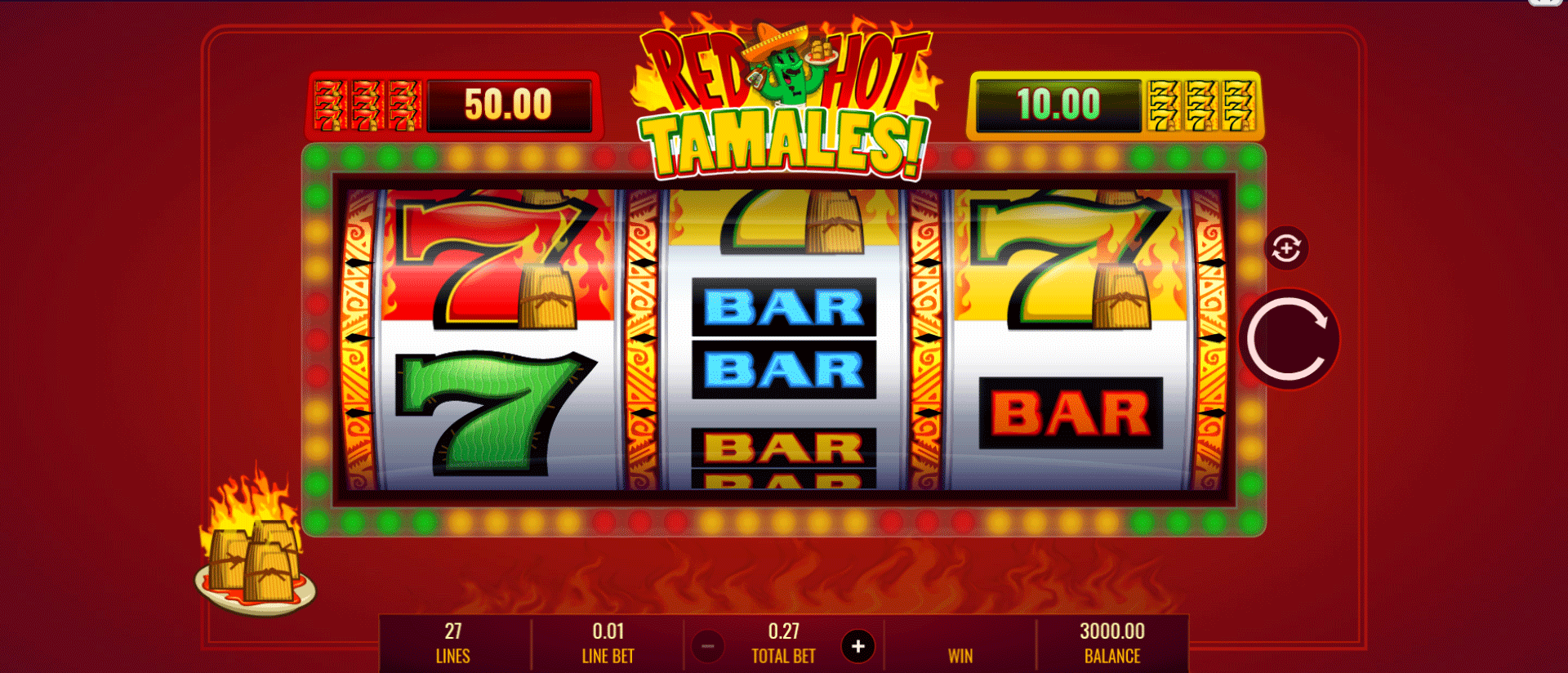 Slot Red Hot Tamales