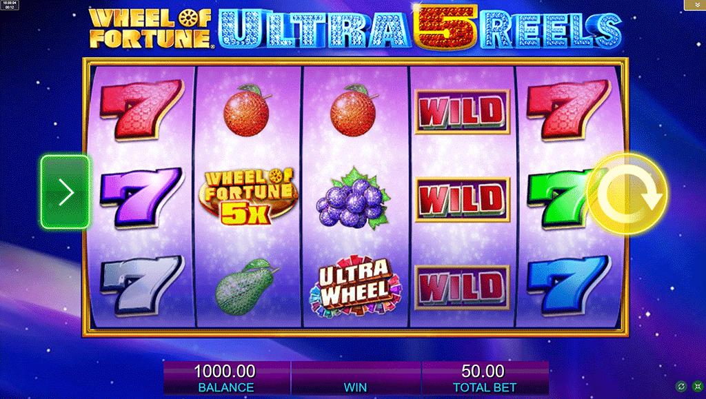 Slot Wheel of Fortune Ultra 5 Reels
