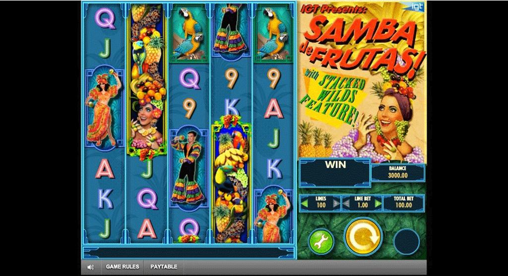 Slot Samba De Frutas