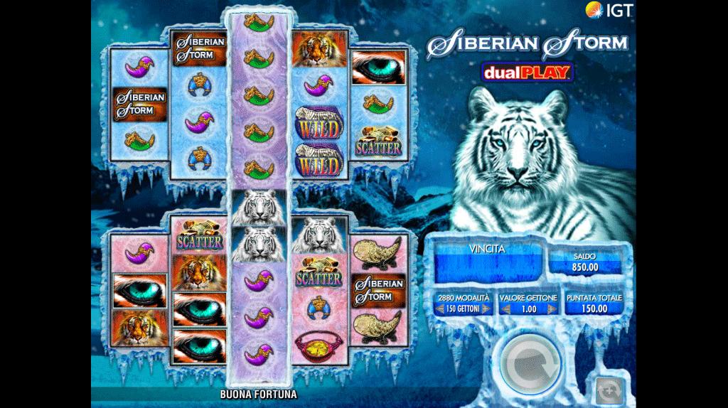 Slot Siberian Storm Dual Play