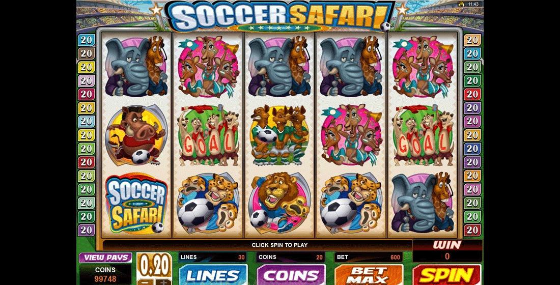 Slot Soccer Safari